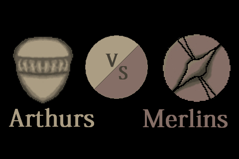 Arthurs vs Merlins