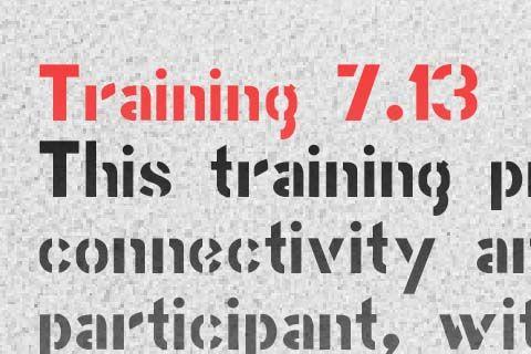 Training 7.13