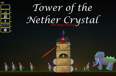 Tower of the Nether Crystal