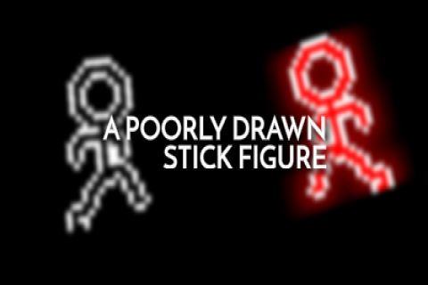 A Poorly-Drawn Stick Figure