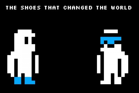 The shoes that changed the world